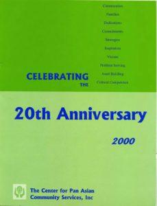 CPACS 20th Anniversary