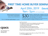 FLYER-2019_04 Homebuyer seminars