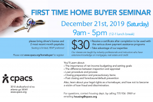 FLYER-2019_12 Homebuyer seminars